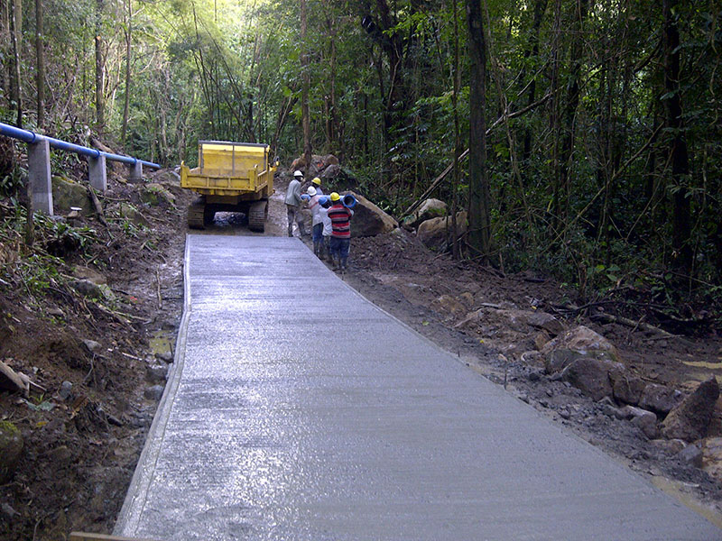 Picard road construction